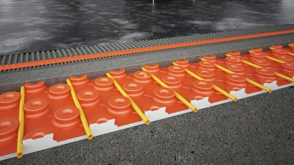 Keramik-Klimaboden Schlüter®-BEKOTEC-THERM